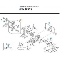 Kółka przerzutki RDM663...